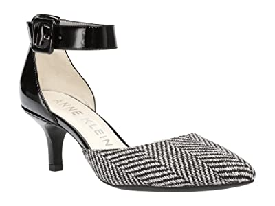Anne Klein Fabulist (Black/White Tweed) High Heels