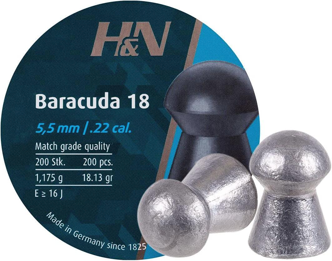 Haendler  Natermann HN Baracuda 18.22 Cal, 18.13 Grains, Round
