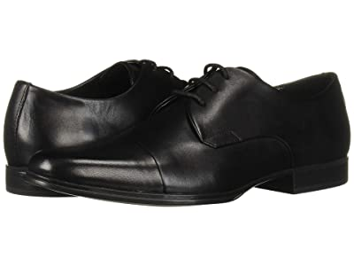 Calvin Klein Dominick (Black Crust Leather) Men