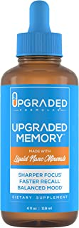 Upgraded Memory Cognitive Function | Liquid Nano Minerals | 30 Servings