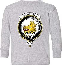 Tenacitee Toddler's Scottish Clan Crest Badge Campbell Long Sleeve T-Shirt