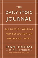 The Daily Stoic Journal: 366 Days of Writing and Reflection on the Art of Living Capa dura