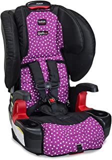 Britax Pioneer Combination Harness-2-Booster Car Seat -2 Layer Impact Protection - 25 to 110 pounds, Confetti