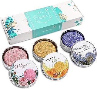 Ucradle Shampoo Bar 100% Natural Vegan Hair Shampoo Bar Varias Plantas Essence Hand Shampoo Bar Apto para todo tipo de c...
