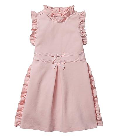 Janie and Jack Ruffle Ponte Dress (Toddler/Little Kids/Big Kids)
