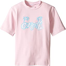 O'Neill Kids Skins Short Sleeve Rash Tee (Infant/Toddler/Little Kids)