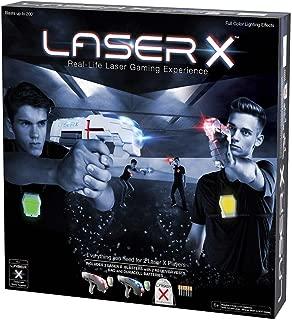 laser x 2 player set with storage bag