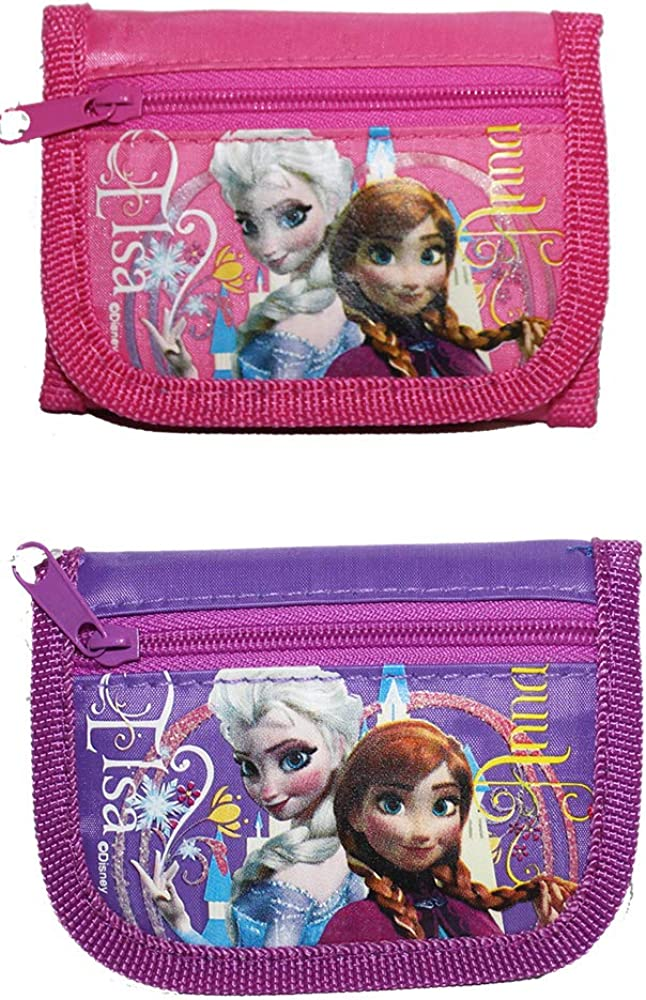 Frozen Trifold Wallet Set
