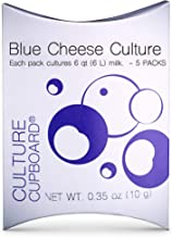 Blue Cheese Starter Culture and Mold 5 Pack - Includes Mesophilic Direct Set and Penicillium Roqueforti