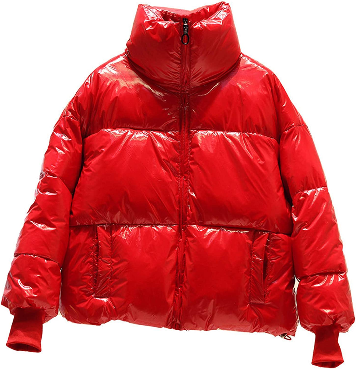 Women's Packable Down Jacket , Ultra Light Short Quilted Jacket for Party