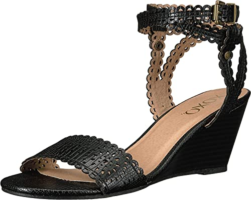 XOXO XOXO XOXO femmes Sissy Open Toe Décontracté Platform Sandals, noir, Taille 10.0 ae8