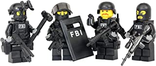 Modern Brick Warfare FBI Swat Team Police Squad Custom Minifigure