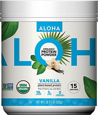 ALOHA Organic Plant-Based Protein Powder
