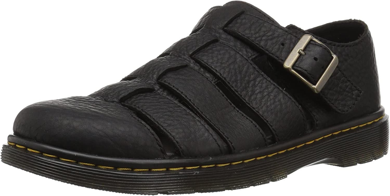 Dr. Martens Unisex-Adult Fenton Black Sandal