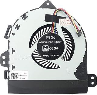 (CPU Versión 12 V) Ventilador ventilador ventilador compatible con ASUS ROG G701VI, G701VO, GX700VO, G701VIK, GX701VI, GX700V, GX700