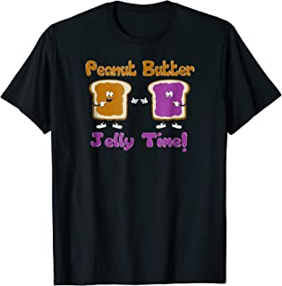 PB&J Funny Peanut Butter Jelly Time T-Shirt
