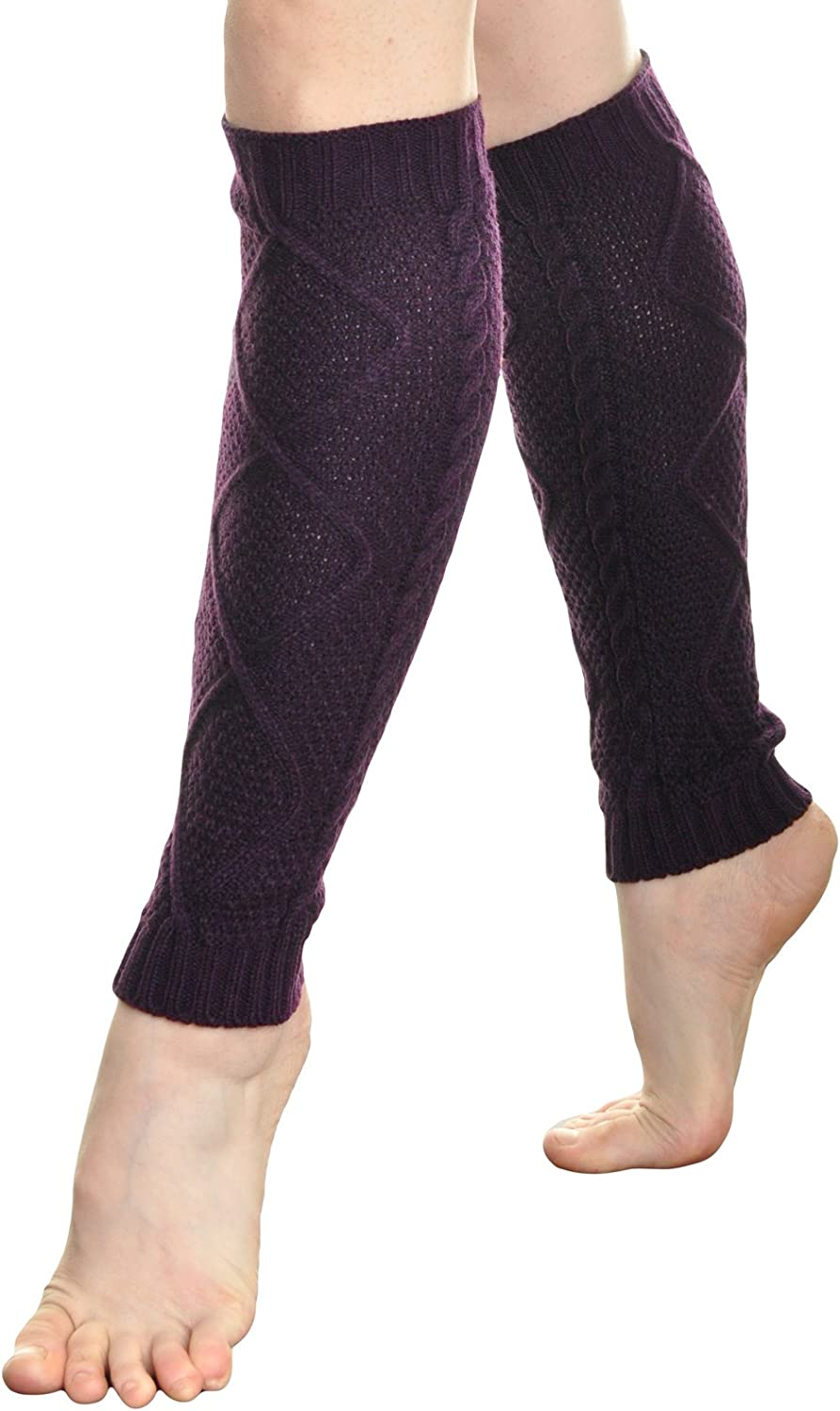Angelina Cozy Cable Warmer Max 60% OFF Leg Knit quality assurance