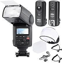 Neewer Professional Speedlite E-TTLHigh-Speed Sync Flash Kit for CANON Rebel T4i T3i T3 XS T2i T1i Xsi Xti, EOS 650D 600D 1100D 1000D 550D 500D 450D 400D 5D Mark III 5D Mark II 7D 60D 50D 40D 30D DSLR Cameras