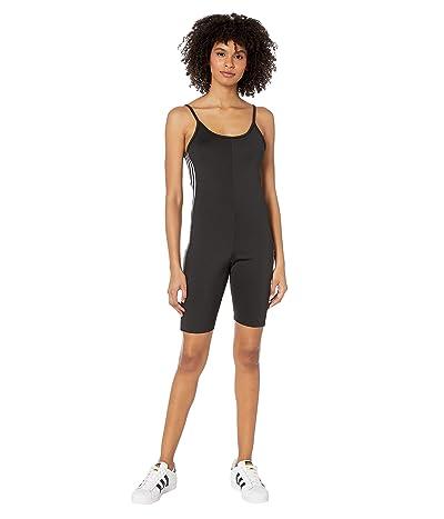 adidas Originals adiColor Lock Up Logo Cycling Suit (Black) Women