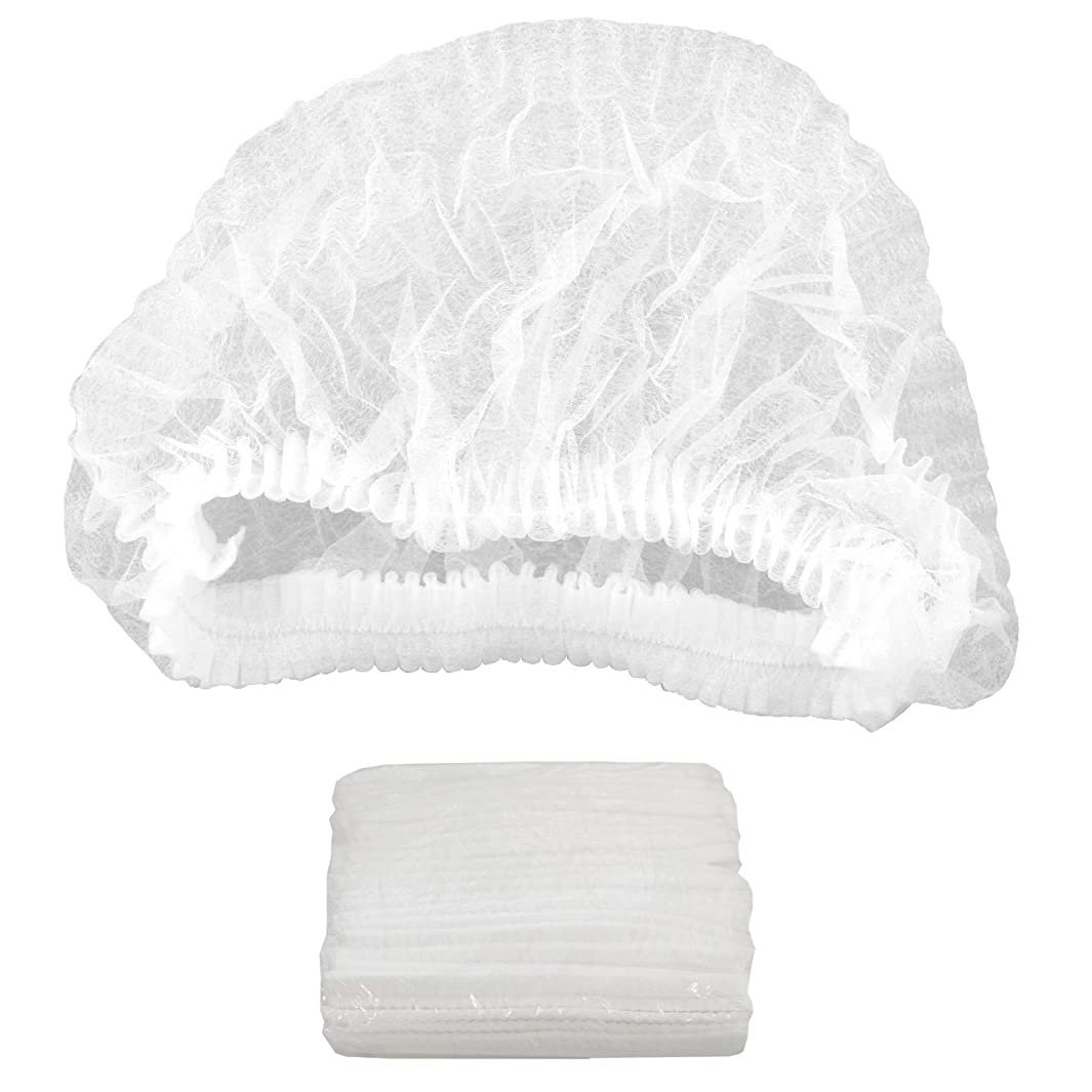 Belloccio 100 Disposable Hair Net Caps: Sunless Spray Tanning, Salon, Spa, Food
