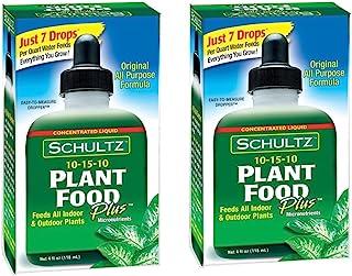Schultz All Purpose 10-15-10 مواد غذایی گیاهی به علاوه ، 4 اونس [2- بسته]