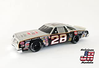 1/25 Salvinos JR Models Buddy Baker NASCAR Plastic Model Kit