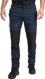 Höhenhorn Trekmaster - Pantalones de senderismo para hombre (softshell, forrados)