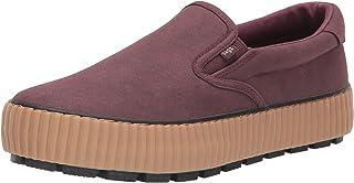 Lugz Women's Spell Fashion Boot Sneaker, Burgundy/Gum, 7