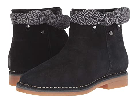 Hush Suède Suedenavy Catelyn Puppies Suededark Arc Botte Noire Brun rrHxqS0w