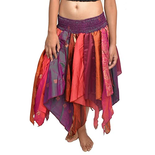e6b800bd0aadb Wevez Women s Tribal Leaves Style Skirt Pack of 3