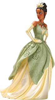 Enesco Disney Showcase Couture de Force Princess and The Frog Tiana Figurine, 8.46 Inch, Multicolor