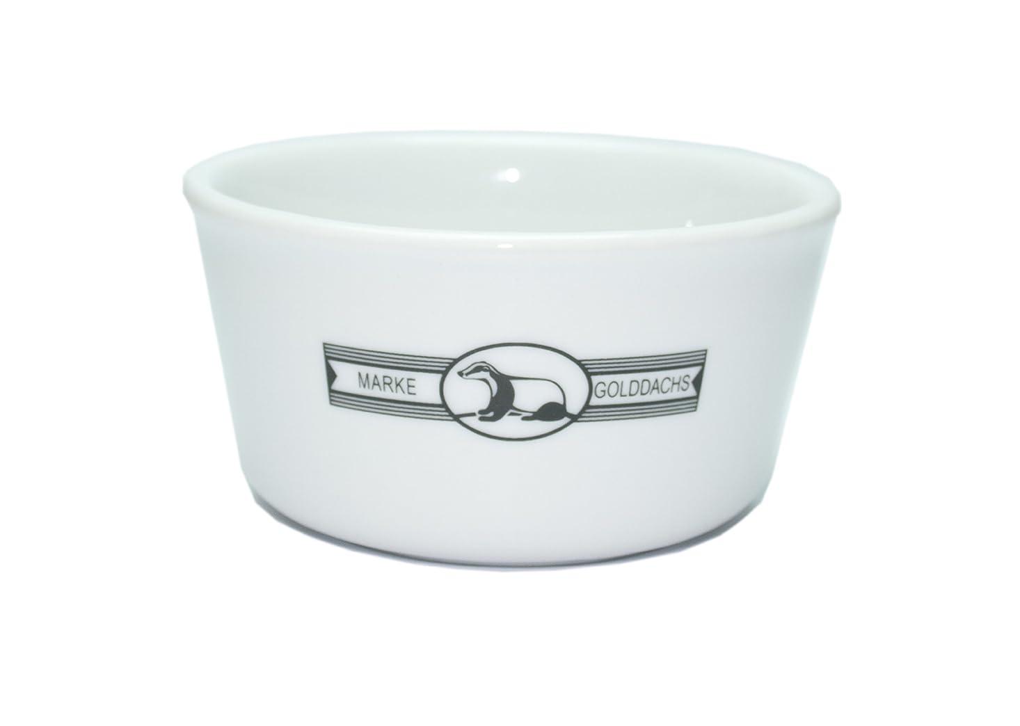 モザイク反論Golddachs Shaving Pot, Porcelain