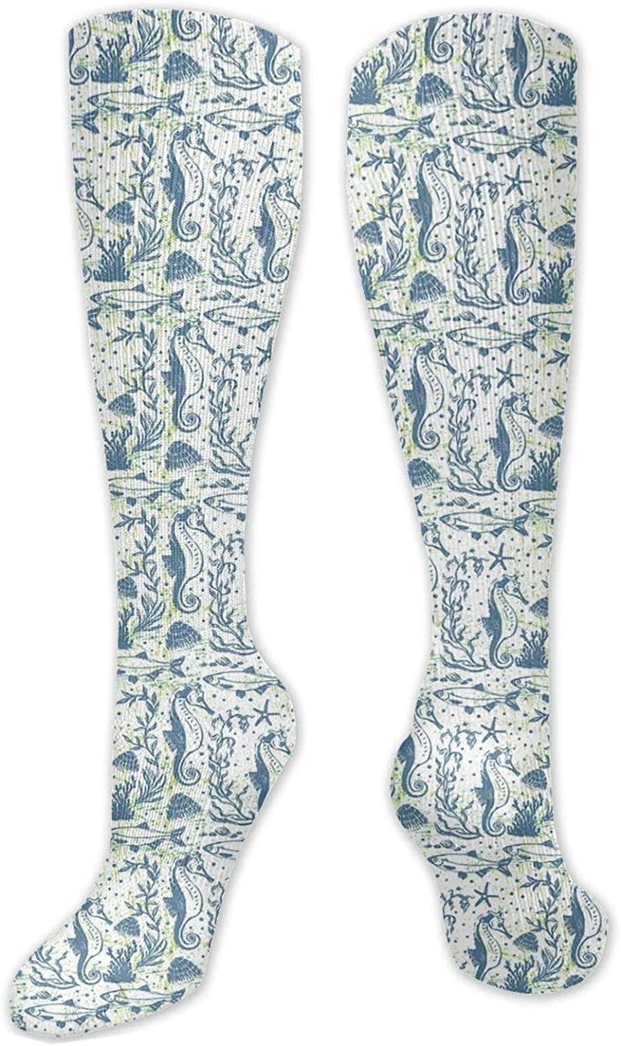 Compression OFFicial site Socks for Women Topics on TV Men Style Illus Circulation Sketch