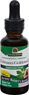 Natures Answer Echinacea-Goldenseal - Alcohol Free - 1 oz (Pack of 4)
