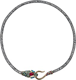 Betsey Johnson Dark Shadows Snake Collar