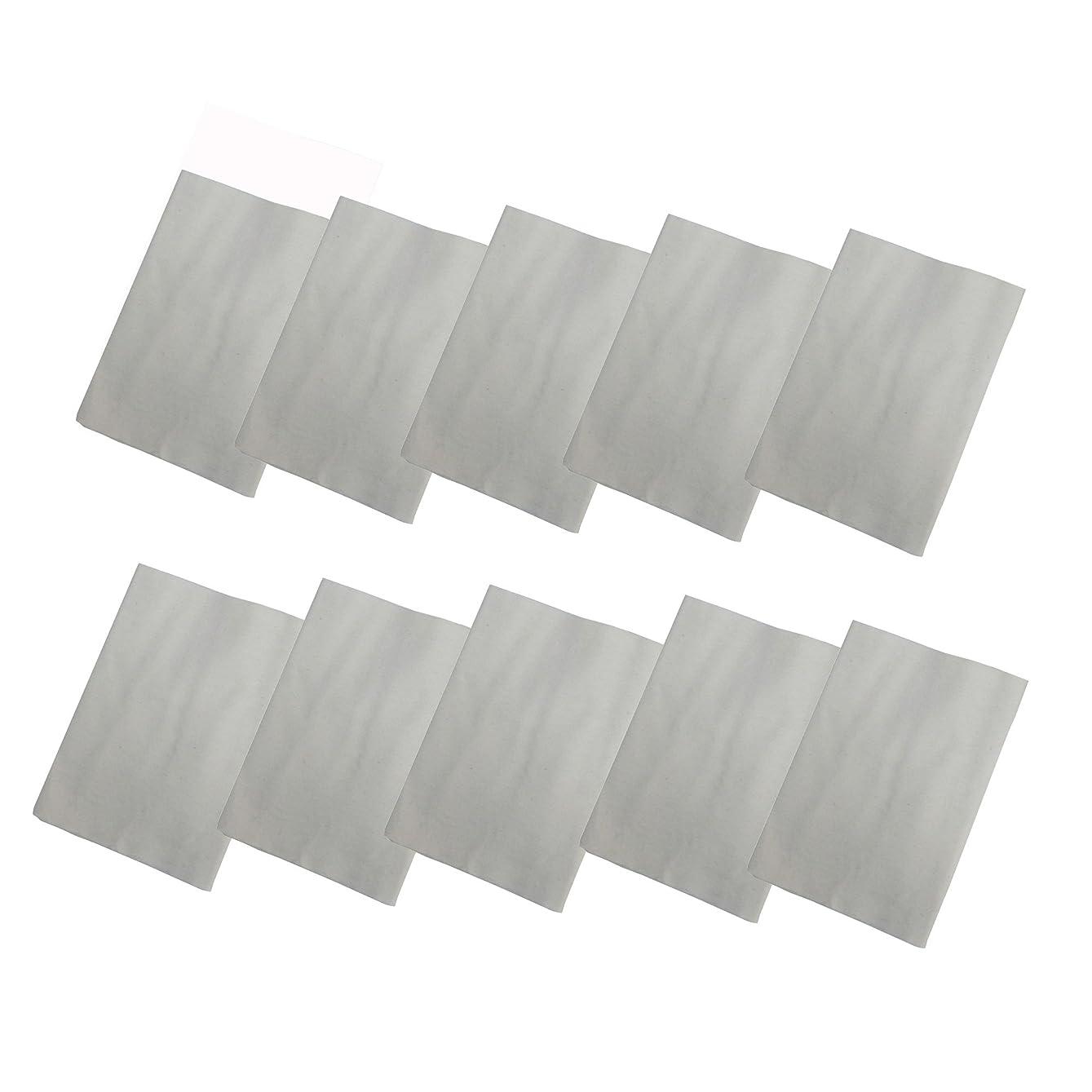 拍手するアクセル原油コットンフランネル10枚組(ヒマシ油用) 無添加 無漂白 平織 両面起毛フランネル生成