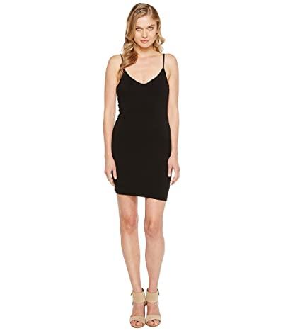 LAmade V-Neck Tank Dress (Black) Women