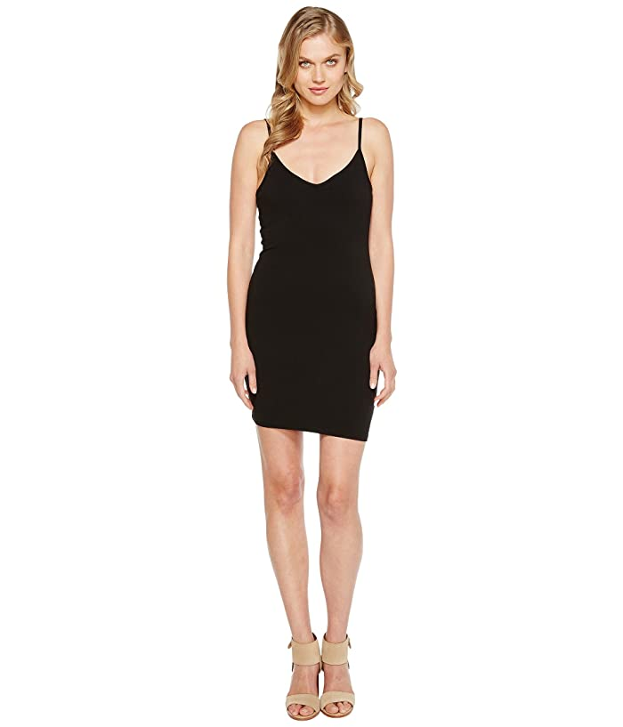 LAmade V-Neck Tank Dress (Black) Women's Dress