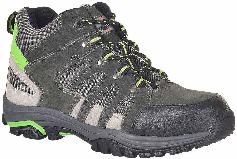 SUw - Steelite Loire Mid Cut Workwear Safety Trainer shoes S1P HRO - Grey - UK 6