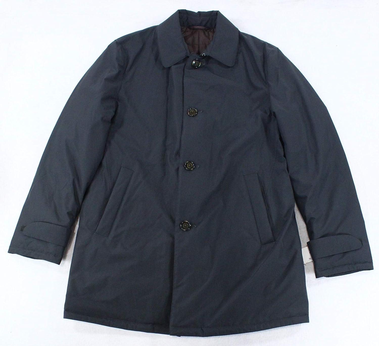 Ralph Lauren Mens Water-Repellent Coat, Black, 38 Regular