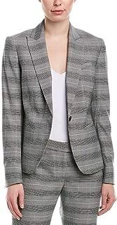 Women's One-Button Lapel Jacket