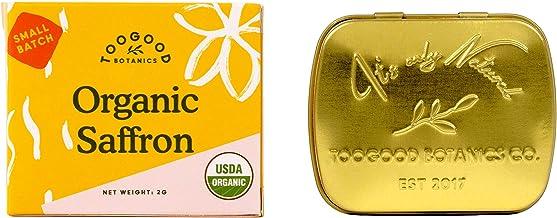 Organic Pure Saffron, Superior Grade A, Kashmir Valley (2 grams) [Certified Organic]