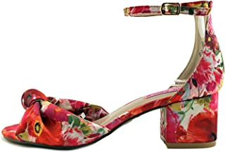 71d3b4e97fd0e4 Betsey Johnson Womens Ivee Fabric Open Toe Casual Ankle Strap