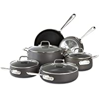 All-Clad E785SC64 Ha1 Dishwasher Safe Cookware Set 10-Piece