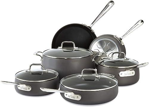 All-Clad-E785SC64-Ha1-Hard-Anodized-Nonstick-Dishwasher-Safe-PFOA-Free-Cookware-Set