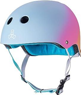 Triple Eight The Certified Sweatsaver Helmet for Skateboarding, BMX, and Roller Skating