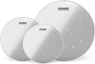 Evans ETP-HYDGL-R - Paquete de parches de rock para toms de 10, 12 y 16 pulgadas
