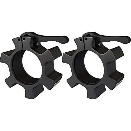 Younix® Titan Olympic Bar Collars Heavy Duty Aluminium Barbell Weight Lifting