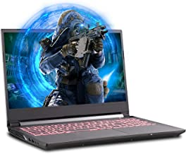 Sager NP6858EQ 15.6-Inch Thin Bezel FHD 144Hz Gaming Laptop, Intel i7-10750H, GTX 1650Ti 4GB, 16GB RAM, 500GB NVMe SSD, Wi...