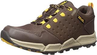 Teva Boys' WIT Choclea/Mesh-K Shoe Chocolate/Yellow 5 M US Big Kid